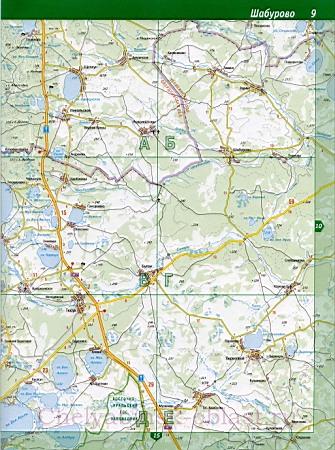 Подробная Карта Каслинского Района Челябинской Области